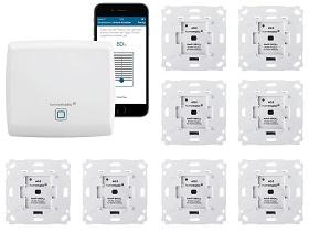 Homematic IP Rolladensteuerung mit 8 Aktoren