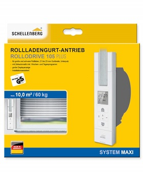 Schellenberg Gurtwickler | Rolladen elektrisch öffnen – Modelle